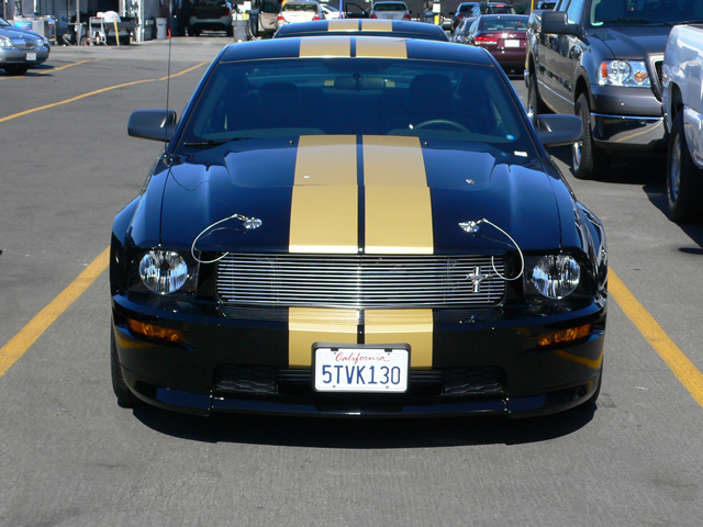 Ford Mustang Shelby Gt350h Front View