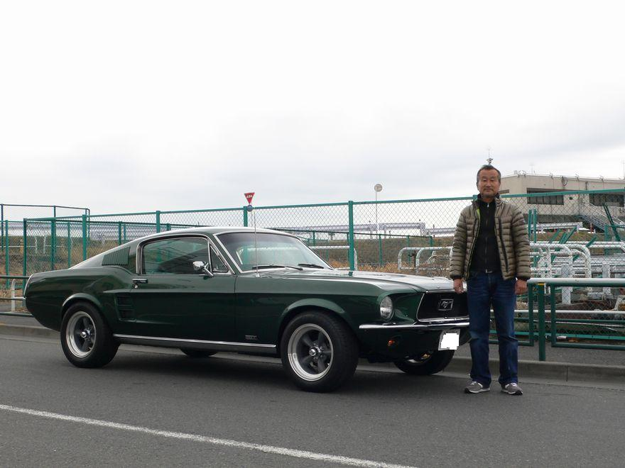フォードマスタング GT390 ブリットクローン