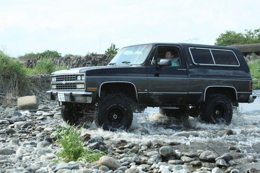 91年最終型 シボレーK-5 ブレイザー4WD スターパッケージ (`91 Chevrolet K-5 Blazer Starpackage)