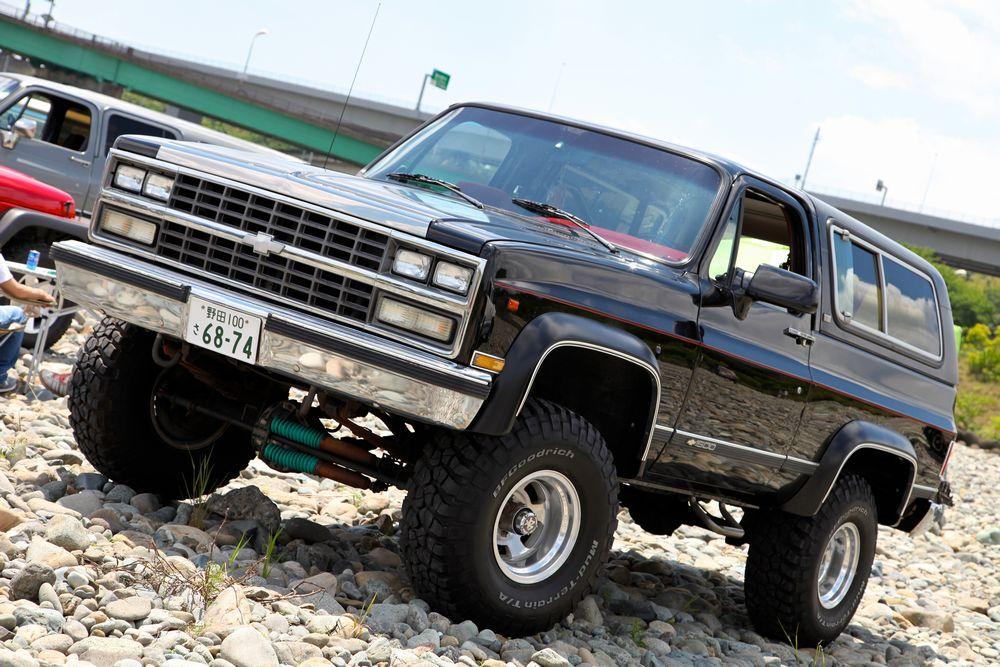 90年 シボレー K5 ブレーザー スターパッケージ 4WD(`90 Chevy K-5 Blazer Starpackage)